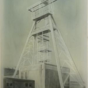 Zobáki akna, 60x40 cm, 2017