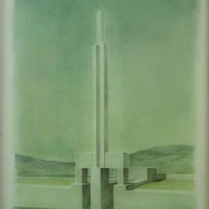 Gibraltár, 90x70 cm, 2015