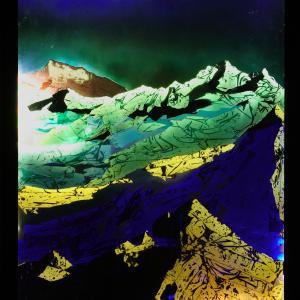 Mountains, 130x101 cm, 2016