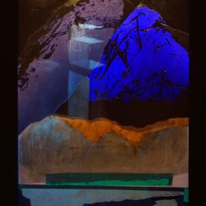 Peaks 1., 40x30 cm, 2016
