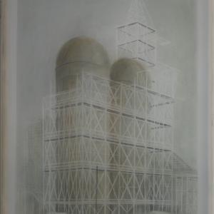 Sztálin Vasmű, 60x40 cm 2017