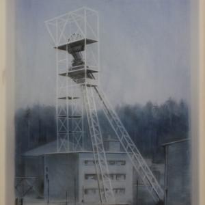 Szent István akna, 60x40 cm, 2017