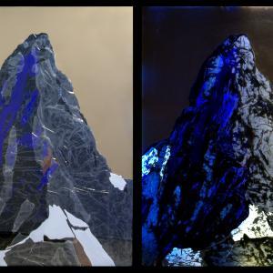 Matterhorn off/on, 130x101 cm, 2016