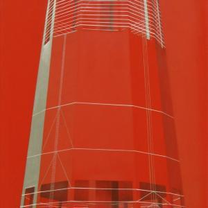 Emlék mű I., 120x57 cm, 2015