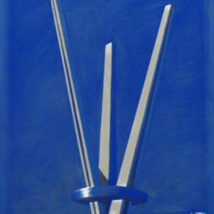Emlék mű II., 80x40 cm, 2015